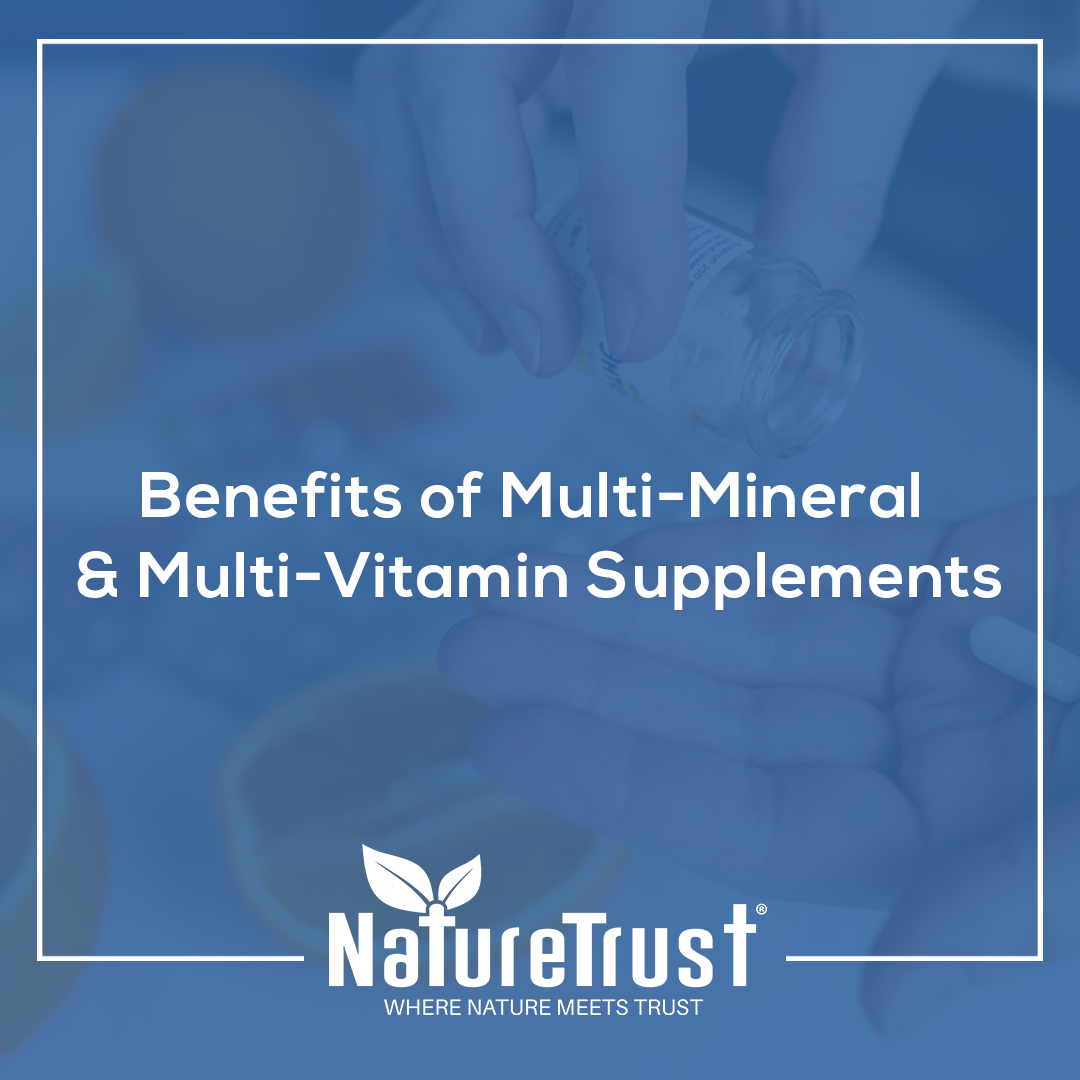 benefits of multimineral and multivitamin supplements